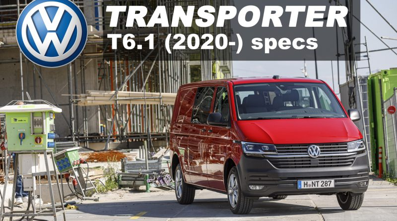 VW Transporter T6.1 2020 specs & prices