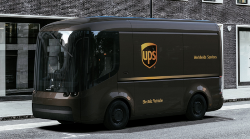 Arrival and UPS deal